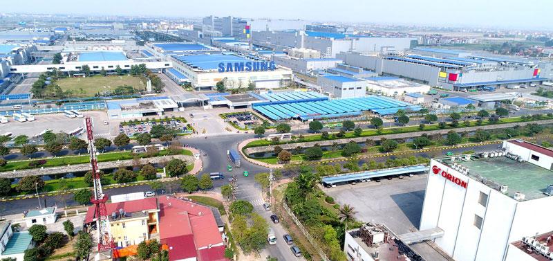Các khu công nghiệp tại Bắc Ninh