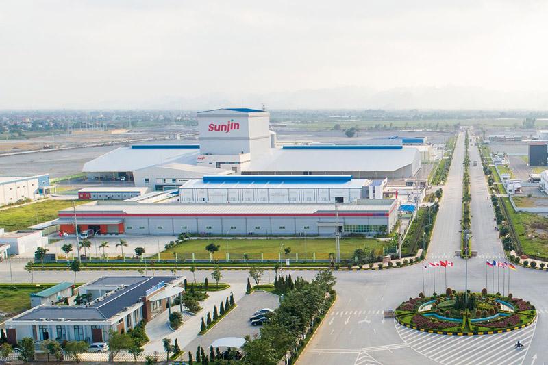 Các khu công nghiệp tại Hà Nam
