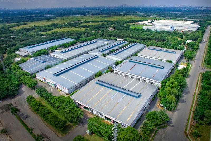 Các khu công nghiệp tại Long An